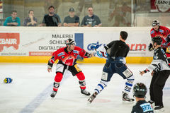 Hockey fight Stock Images