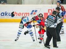 Hockey fight Stock Photography