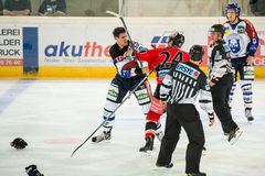 Hockey fight Stock Photos
