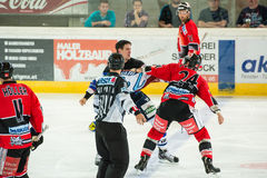 Hockey fight Royalty Free Stock Image