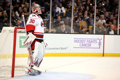 Hockey Fights Cancer! Cam Ward Stock Photo