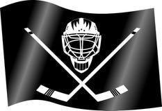 Hockey flag Royalty Free Stock Photos
