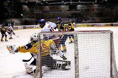 Hockey game Stock Photography