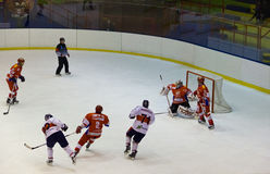 Hockey game Stock Images