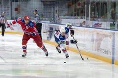 Hockey game harsh Royalty Free Stock Photography
