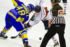 Hockey game between HC Milano and HC Fassa Royalty Free Stock Photo