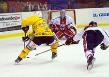 Hockey game Stock Photo
