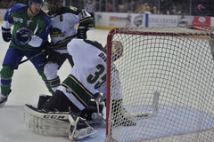 Hockey Game. Minor league Hokey Game, Columbus Cottonmouths VS Mississippi RiverKings stock image
