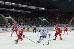 Hockey game  Royalty Free Stock Photography