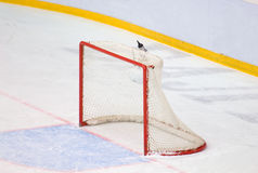 Hockey gate without goalkeeper Stock Images