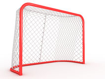 Hockey gate. Royalty Free Stock Photography
