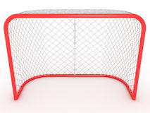 Hockey gate. #1 Royalty Free Stock Photo