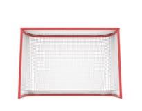Hockey gates. Isolated on white background. 3d illustration Royalty Free Stock Images