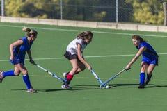 Hockey Girls Action Royalty Free Stock Photography
