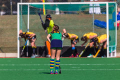 Hockey Girls Action Challenge National Championshi Stock Photo