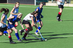 Hockey Girls Ball  Stock Photo