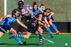 Hockey Girls Face Masks Goals  Stock Images