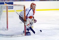 Hockey goalie Stock Images