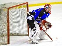 Hockey goalie Stock Photography