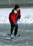 Hockey Goalie Stock Afbeeldingen