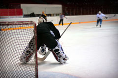 Hockey goalie Stock Photos