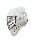 Hockey Goalie Helmet royalty free stock photo