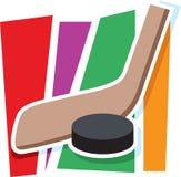 Hockey Graphic Royalty Free Stock Photos