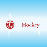 Hockey grunge background Stock Photos