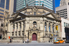 Hockey Hall of Fame Building in Toronto Royalty Free Stock Photography