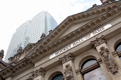 Hockey Hall of Fame facade in Toronto, Canada Royalty Free Stock Photography
