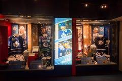 Hockey Hall of Fame. TORONTO, CANADA - circa february 2017: Hockey Hall of Fame Royalty Free Stock Photos