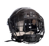 Hockey Helmet Stock Photo