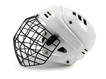 Hockey Helmet Stock Images