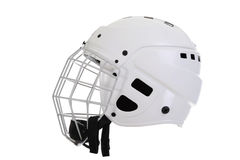 Hockey helmet Royalty Free Stock Image