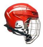 Hockey helmet isolated Stock Photos