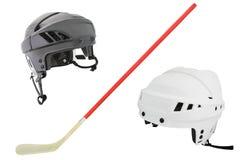 Hockey helmet Stock Image