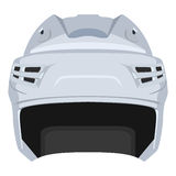 Hockey helmet Royalty Free Stock Images