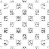 Hockey ice field pattern vector seamless. Repeating for any web design Stock Images