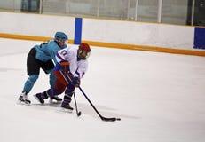 hockey ice player Στοκ εικόνες με δικαίωμα ελεύθερης χρήσης