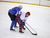 hockey ice player Στοκ Φωτογραφία