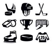 Hockey icon Stock Photos
