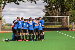 Hockey Internationaal Argentinië V Zuid-Afrika Stock Afbeelding