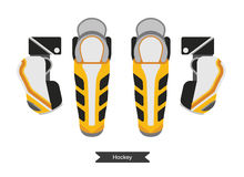 Hockey jersey element 3 Stock Images