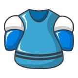 Hockey jersey icon, cartoon style. Hockey jersey icon. Cartoon illustration of hockey jersey vector icon for web design Royalty Free Stock Photos