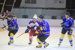 Hockey - Kobra Praha vs. HC Benesov Stock Photo