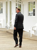 Hockey-Legende Wayne Gretzky Suit Stockfoto