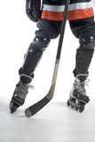 Hockey Legs - Vertical royalty free stock photos