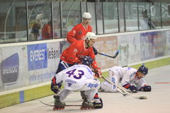 Hockey in-line - Ales Chamrad Immagine Stock