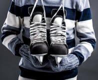 Hockey lover Royalty Free Stock Photo