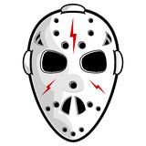 Hockey mask Royalty Free Stock Images